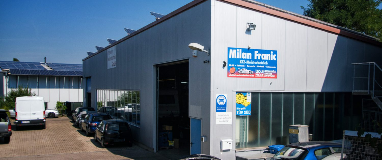 Milan Franic Werkstatt in Brackenheim
